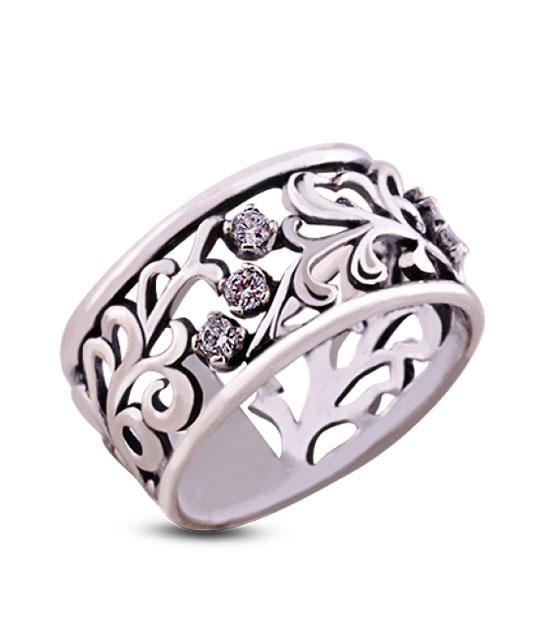 Strieborný prsteň 19011 Poľana