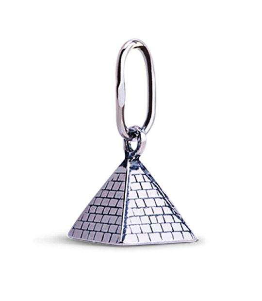 Strieborný prívesok – Pyramída 39016