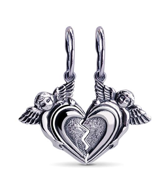 Strieborný prívesok – Valentínka 39038
