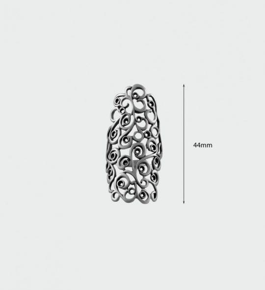 Strieborný prsteň – Ankara 19099