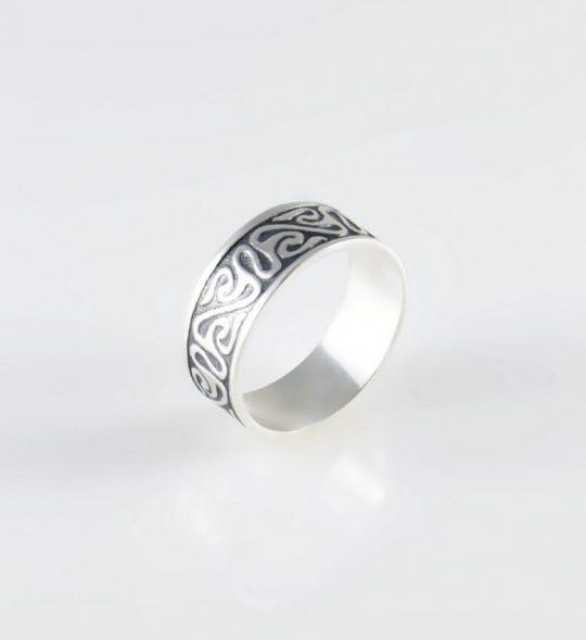 Strieborný prsteň – Nagini