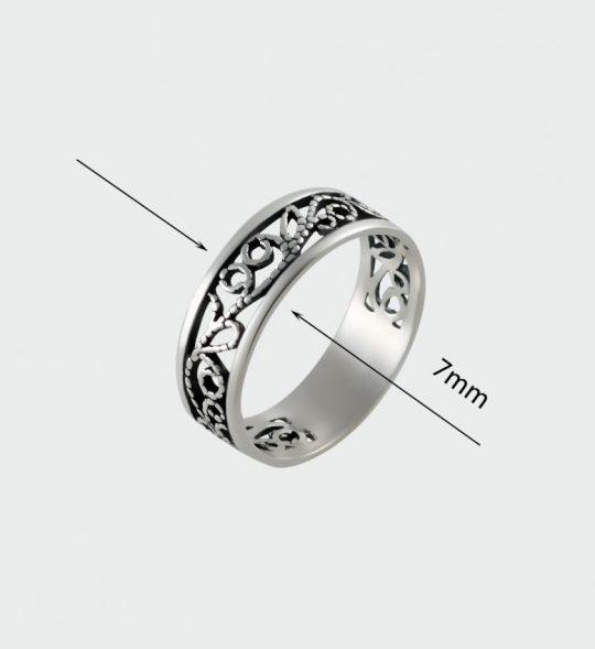 Strieborný prsteň – Filigrán 19106