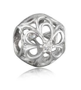 99007-Цветок с 1-м камнем